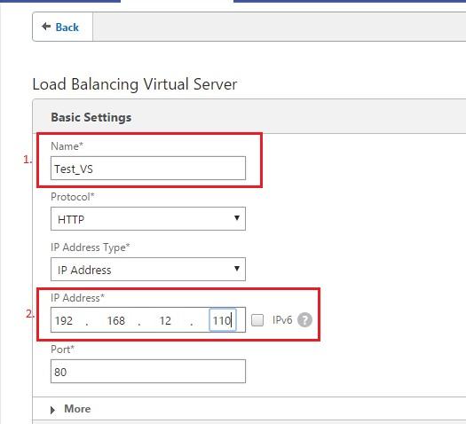 Şekil 4 - HTTP Virtual Server Oluşturma